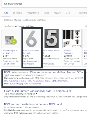 google shopping campagne